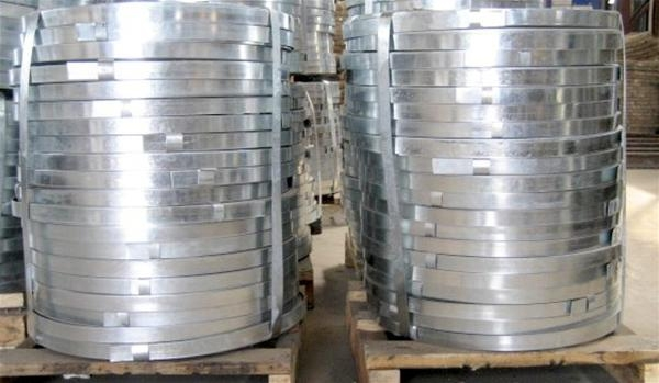 Galvanized steel tapes 0.3mm