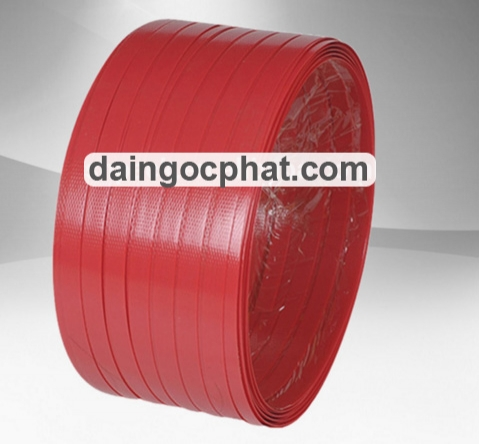 Red PET Strap