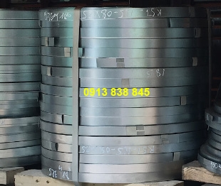 Galvanized steel banding